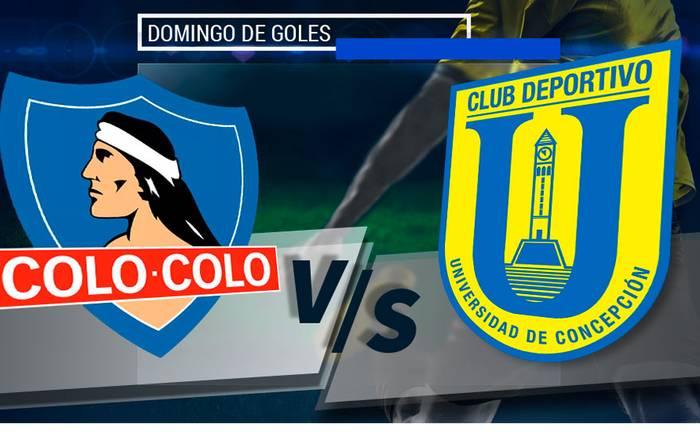 Resultado de imagen para Colo Colo vs U. De Concepción