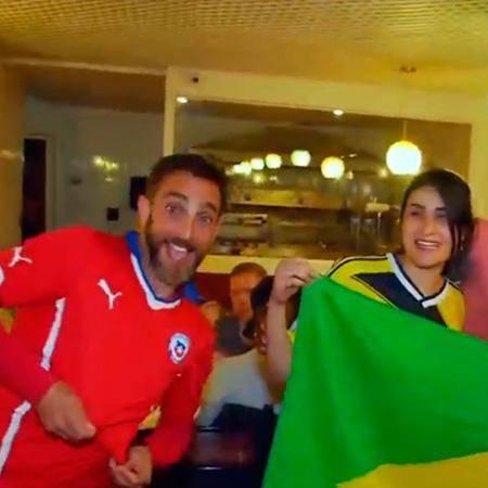 ¡Celebramos con todo el triunfo de Chile!