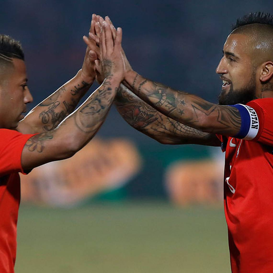 FOTOS: Chile gana sin dificultad ante Burkina Faso