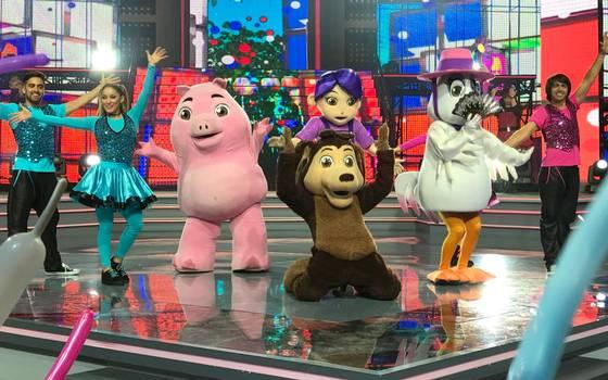 El Perro Chocolo hizo bailar a todos con sus canciones