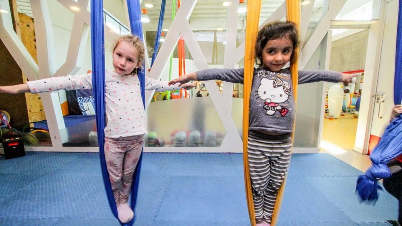 Súper panorama: Circo y acrobacias para niños