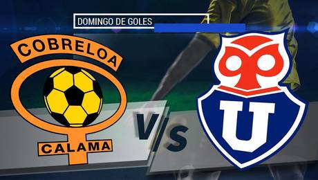 Cobreloa vs Universidad de Chile