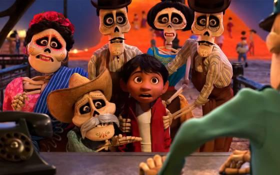 Coco, la película que bate récords en México llega a Chile
