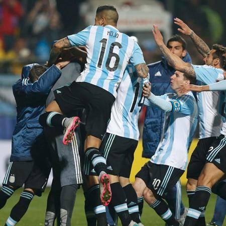 ¡Argentina a semifinales!