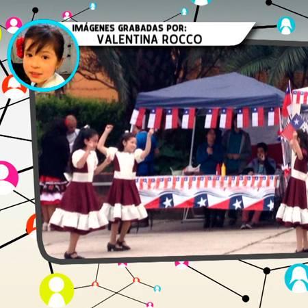 Valentina nos muestra su grupo de baile