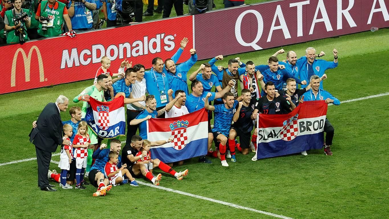 El saludo de Arturo Vidal a Croacia tras avanzar a la final de Rusia 2018