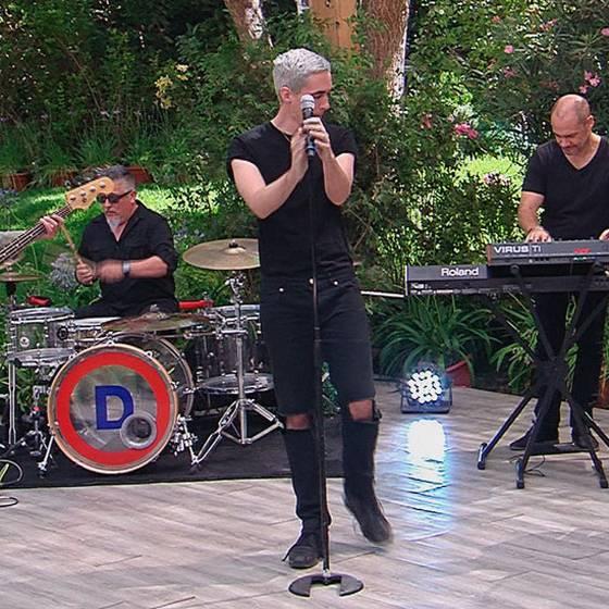 """Ex \""""La Ley\"""" debutaron en TVN con su nueva banda \""""Día Cero\"""""""