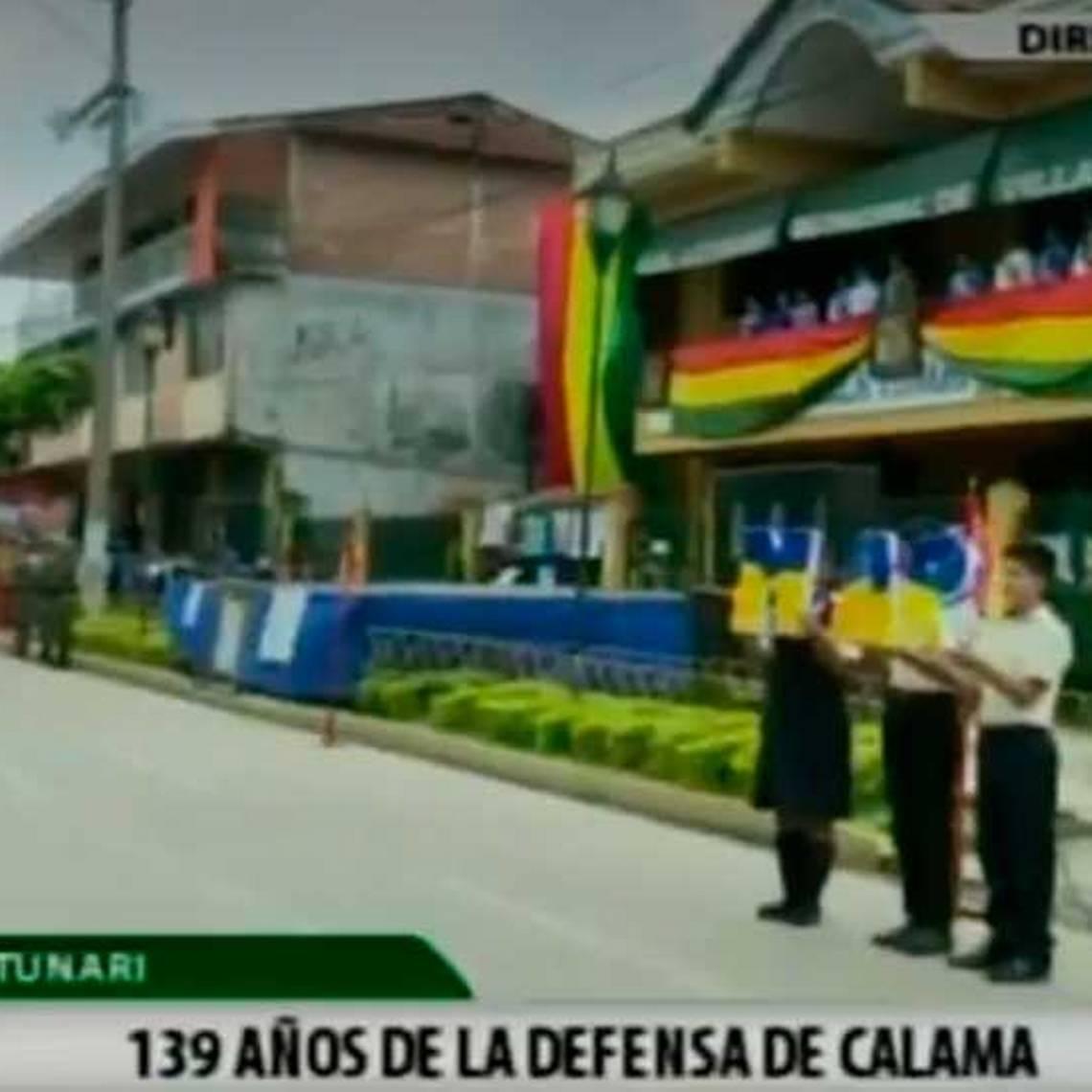 Así celebran el Día del Mar en Bolivia