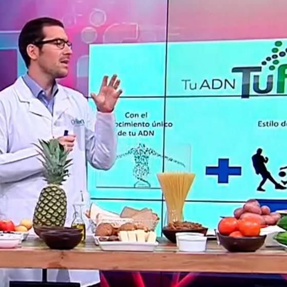 Dieta TuFit: Genética determina qué alimentos consumir