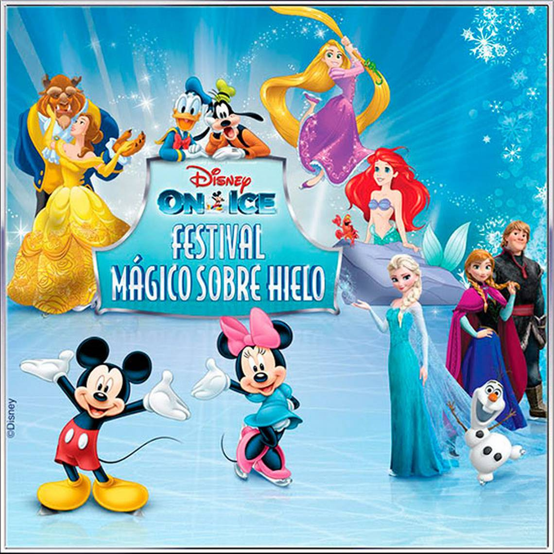Disney On Ice y el mágico mundo de Frozen llegan a Chile