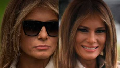 ¿Melania Trump tiene una doble?