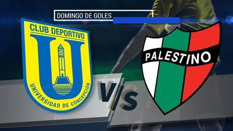 U. de Concepción vs Palestino