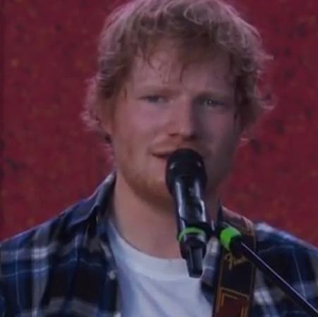 Ed Sheeran enamoró en Central Park