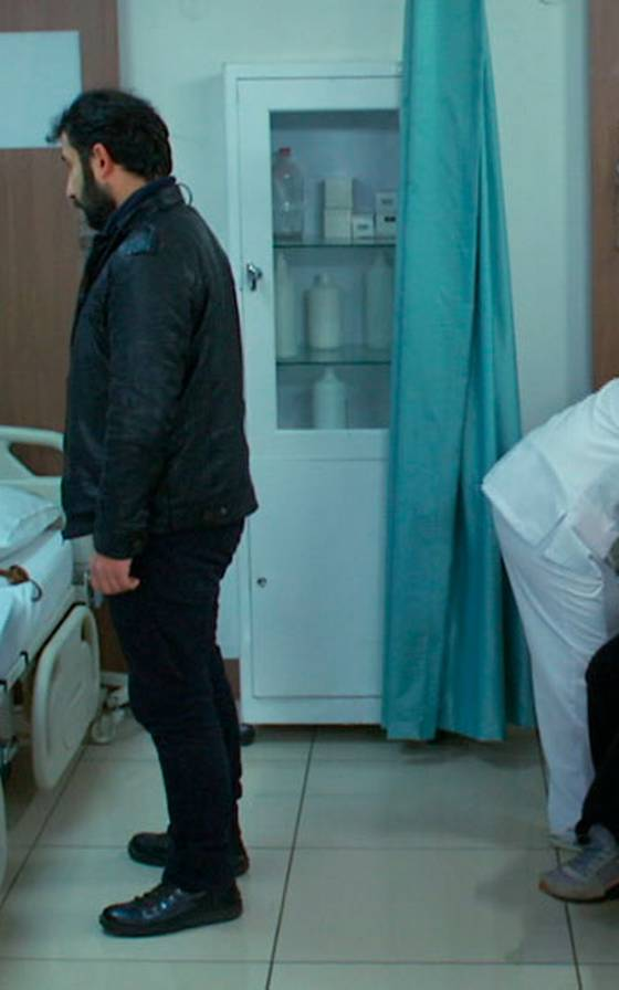 Zeynep y Elif están muy cerca