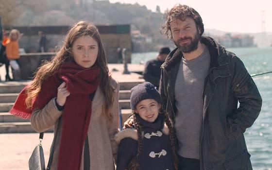 Yusuf y Melek de paseo