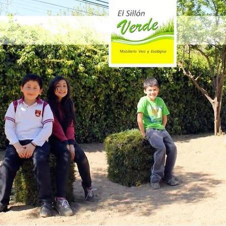 """""""El Sillón Verde"""" Mobiliario vivo y ecológico."""