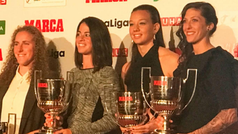 Christiane Endler fue premiada en Gala de Fútbol Femenino en España