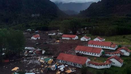 Falsa alarma de nuevo aluvión generó evacuación en Villa Santa Lucía