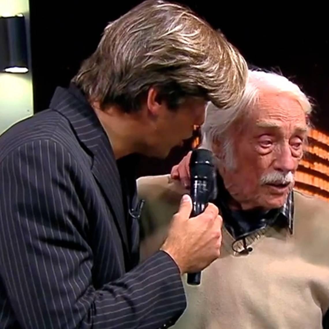 Ignacio Kliche emocionó a todos rindiendo homenaje a su abuelo