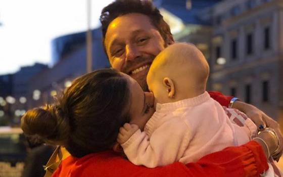 """China"" Suárez compartió lindo retrato de la familia Vicuña Suárez"