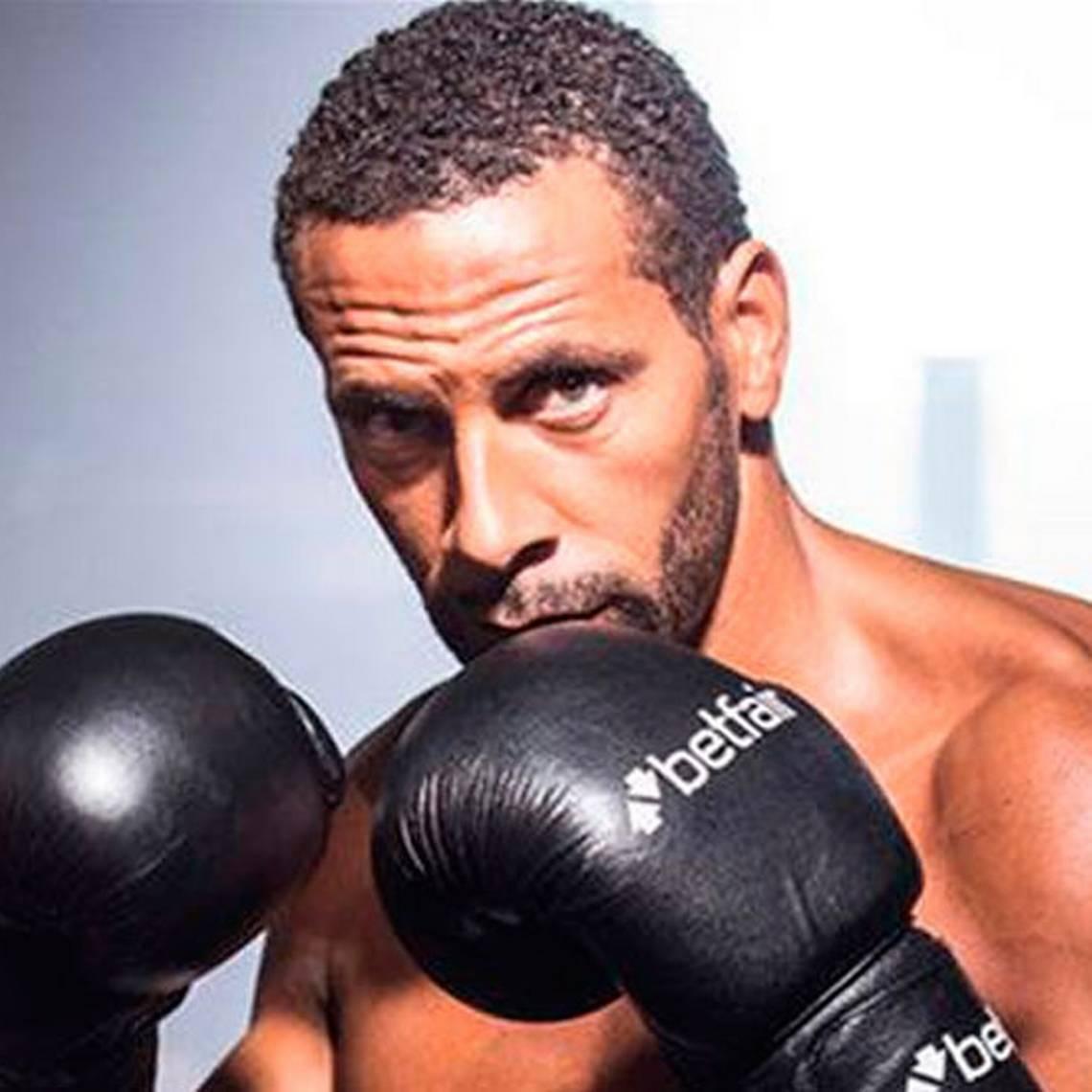 Cambió la pelota por los guantes: Rio Ferdinand será boxeador