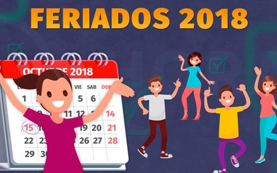Estos son los feriados que quedan para el resto del año