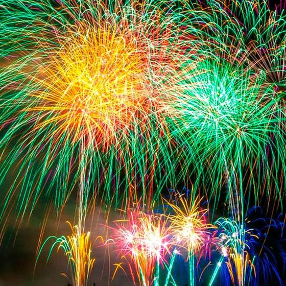 Las grandes fiestas de Año Nuevo en Chile