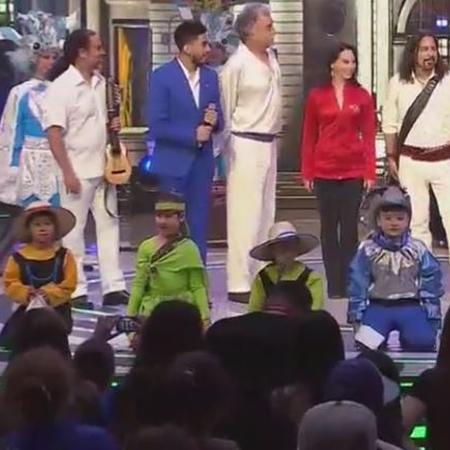 El folclor chileno en el teatro Teletón