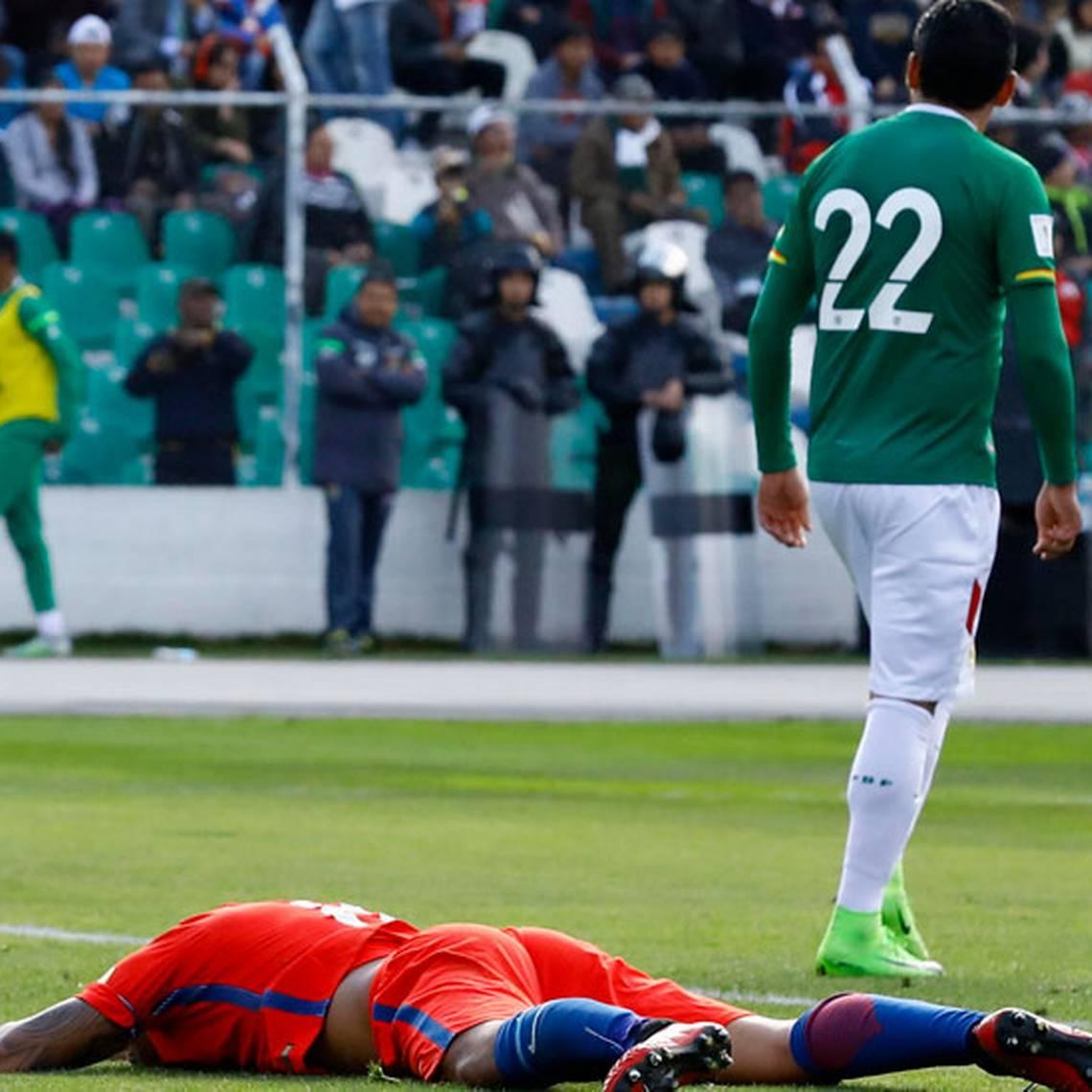 FOTOS: Así fue la amarga derrota de Chile ante Bolivia
