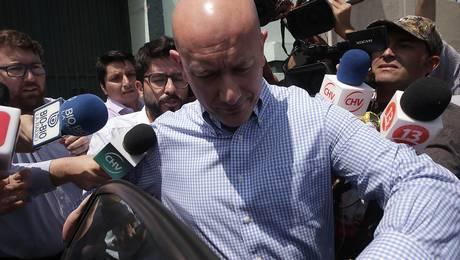 Rafael Garay sale de la cárcel luego de 10 meses