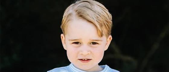 Príncipe George recibe especial regalo en su quinto cumpleaños