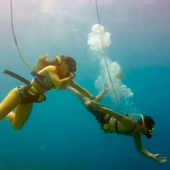 """Monti y Gino conocieron Aruba: \""""La Isla de la felicidad\"""""""
