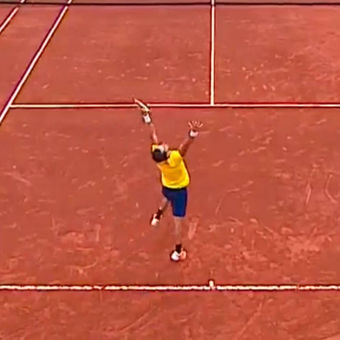 Giraldo gana el quinto set y le da el triunfo a Colombia