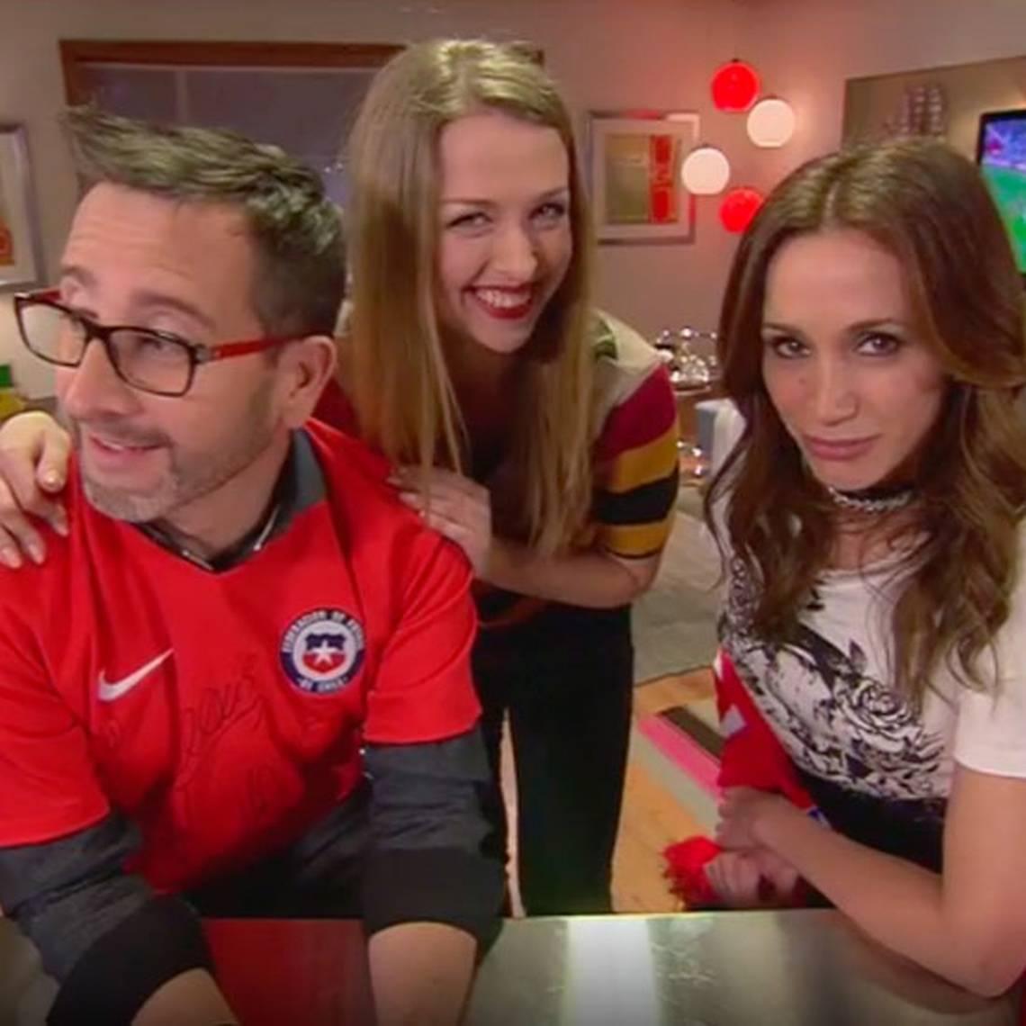 ¡Todos a aprender! Anastasia enseñó ruso a los rostros de TVN