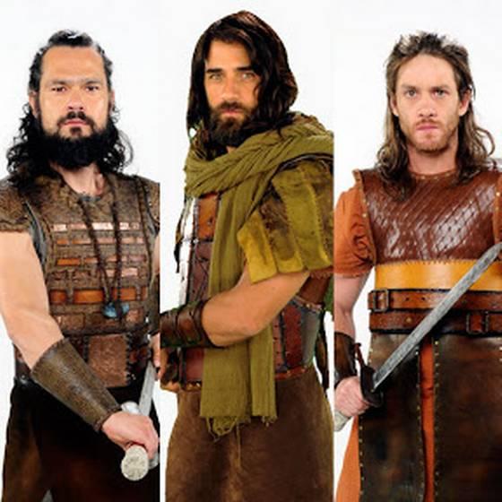 ¿Los conoces? Estos son los guerreros que acompañan a Josué