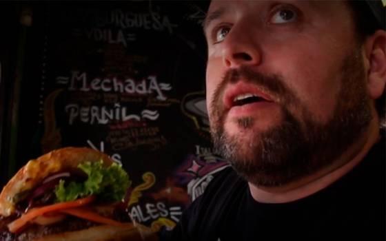 """Una rápida y rica hamburguesa en \""""Voilá\"""""""