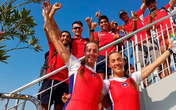 Hermanas Abraham se coronan campeonas en el mundial de remo
