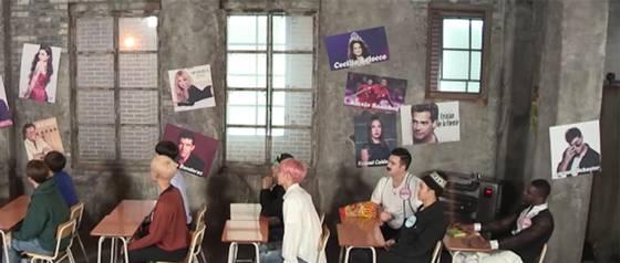 La aparición de Kel, Denise Rosenthal y otros chilenos en programa de K-pop
