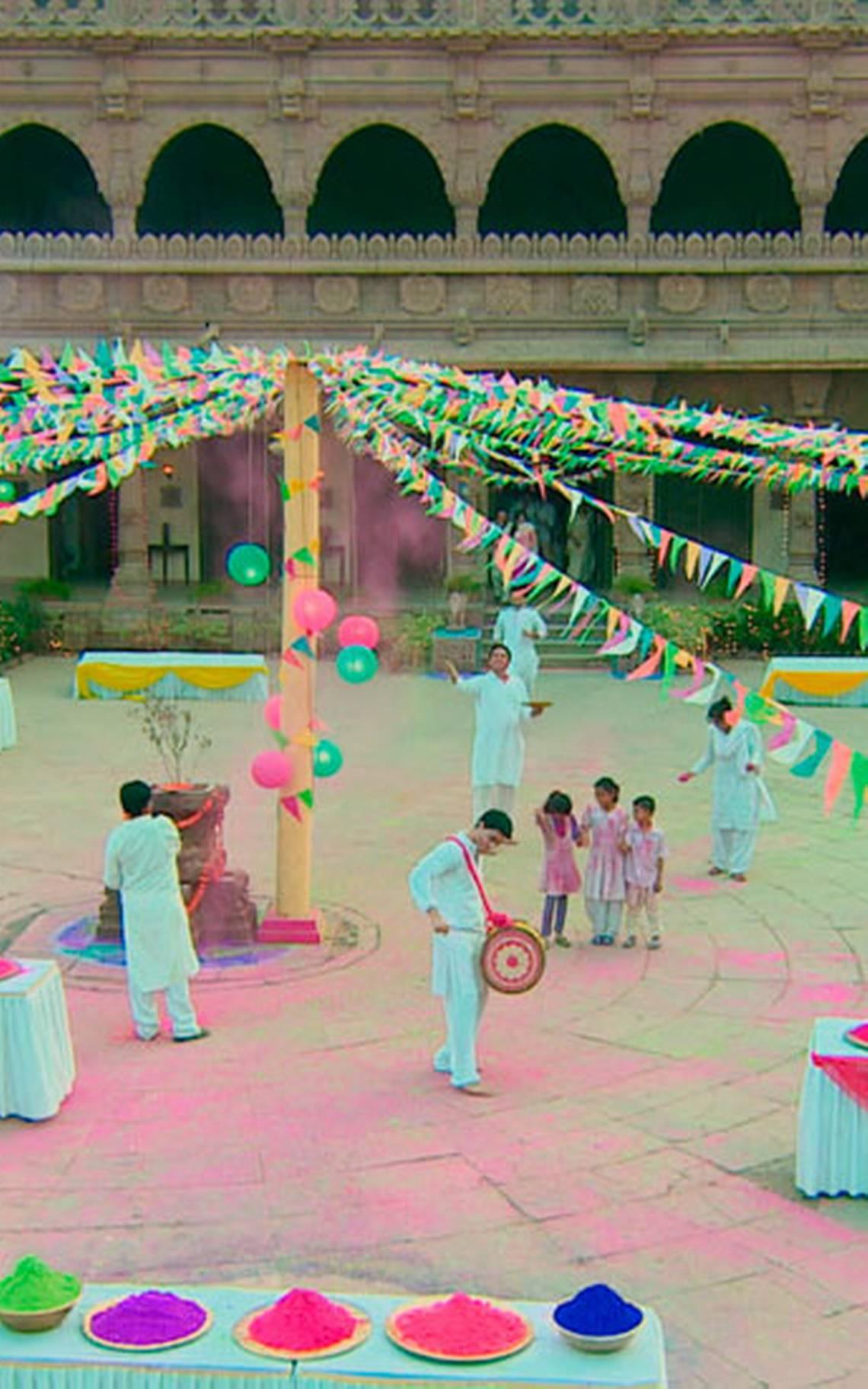 La celebración de Holi