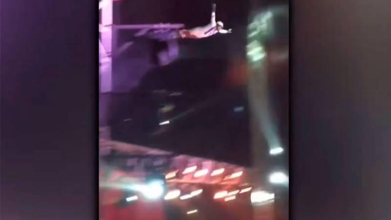 Video captó grave accidente de hombre bala en circo de Maipú