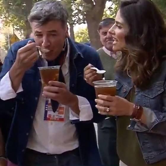 """La sorpresa de la alcaldesa del Olmué al panel de \""""Muy Buenos Días\"""""""