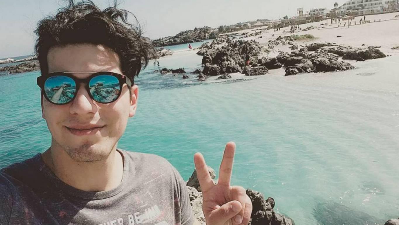 Ignacio Lastra vuelve a las redes sociales tras su accidente