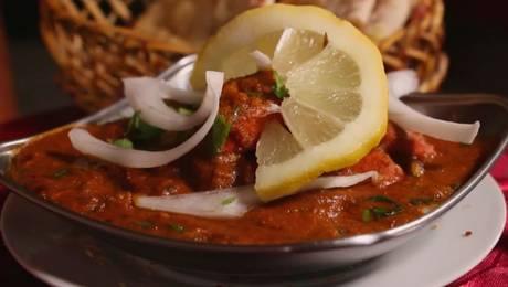 ¡Qué rico! Pato probó delicias de la India