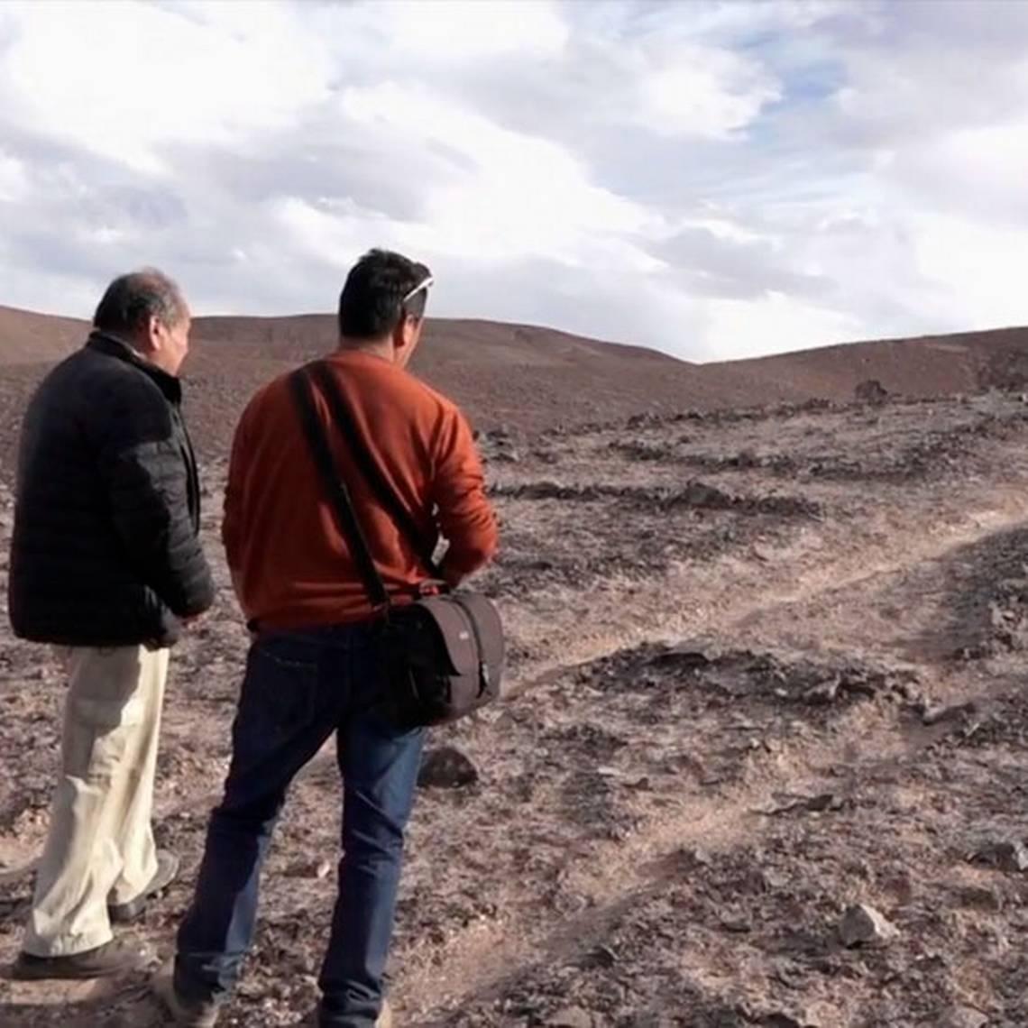 Esteban Araya y su lucha por proteger los geoglifos Chug Chug
