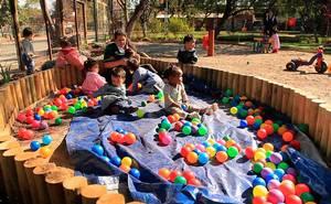 El jardín infantil ecológico