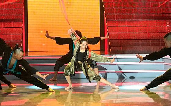 Javiera Aranda sorprendió con tema de Mulan