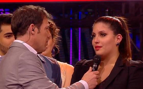 Javiera González es la tercera cantante eliminada de Rojo