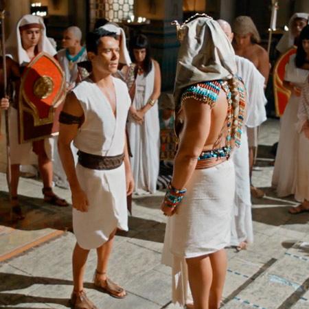 José frente al Faraón / Parte 1