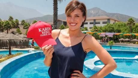 Karen muestra su talento para cabalgar en la Medialuna de Olmué