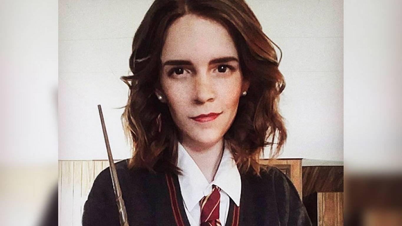 ¡Dos gotas de agua! Esta chica es igualita a Emma Watson